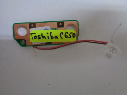 Power бутон за Toshiba Satellite C650