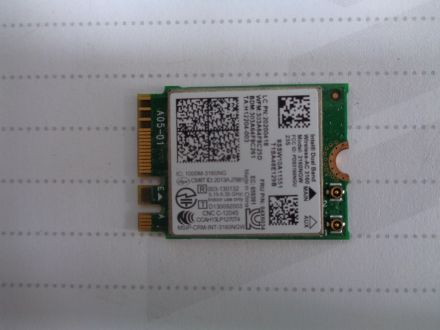 Intel Dual Band Wireless - 3160 model  3160NGW