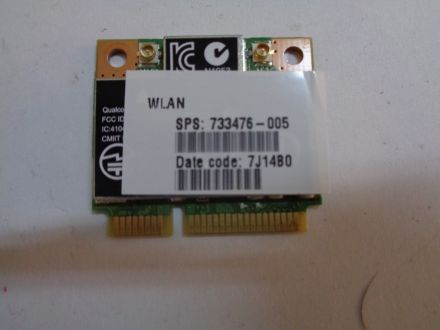 Atheros AR9565 802.11bgn 1x1 WiFi and Bluetooth 4.0