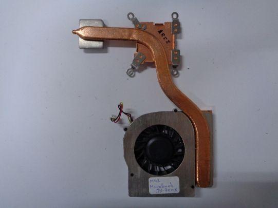 Охлаждане с вентилатор за MSI Megabook GX700X