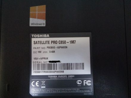 Toshiba Satellite  Pro C850-1M7