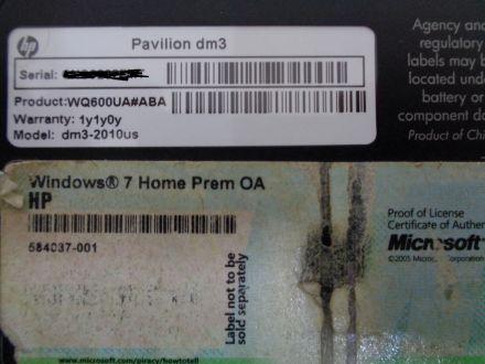 HP Pavilion DM3-2010US