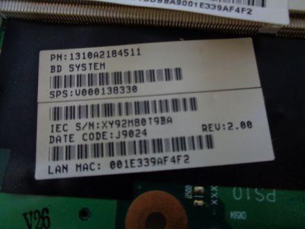 Дънна платка за  Toshiba Satellite L300