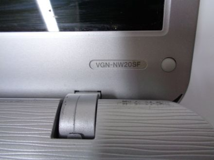Sony Vaio VGN-NW20SF
