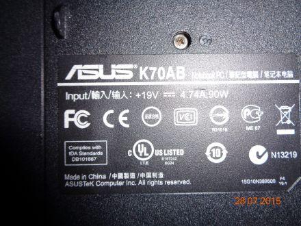 Asus K70AB