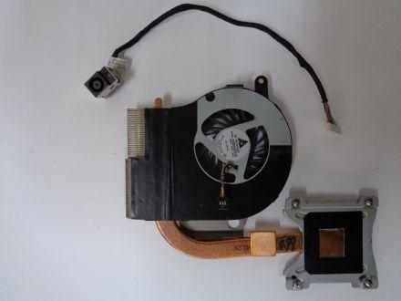 Охлаждане и вентилатор за HP G62