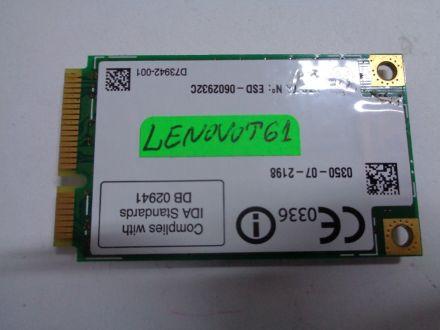 Intel 4965ag Mm2 Wireless  Adapter Card FRU 42t0875