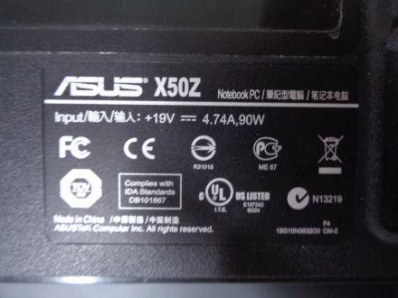 Долен корпус за Asus X50Z