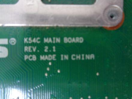 Дънна платка за  Asus K54C